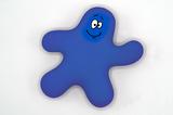 Knijppoppetje blauw