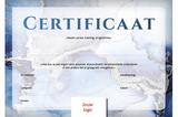 Certificaat volwassenen - opzet 3