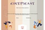 Certificaat voor jongeren - opzet 2