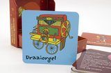 Kindermassagekaart achterzijde Draaiorgel
