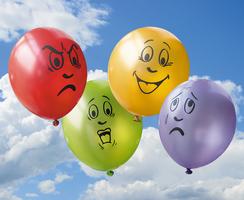 Ballonnen - Emotie (set van 8)