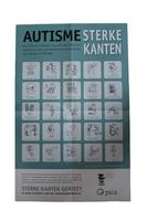 Autisme Sterke kanten - Poster