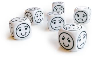 Emotie Dobbelstenen (set van 6)