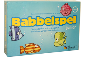 Babbelspel Junior IN HERDRUK