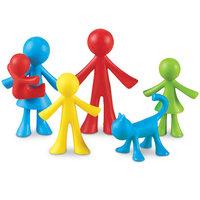 Familie Figuren - Zakje van 24 stuks