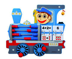 Wandpaneel Trein Ella - Locomotief