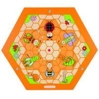 Wandpaneel Bijenkorf - Insecten in de wei