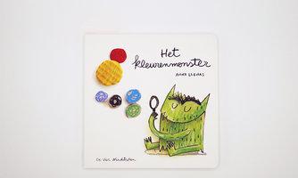 Het Kleurenmonster - Kartonboekje