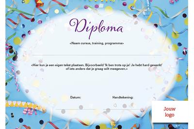 Diploma kind - opzet 1