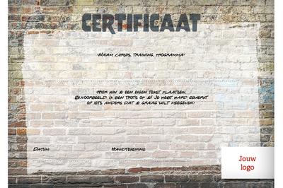 Certificaat voor jongeren - opzet 1