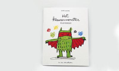 Het Kleurenmonster - Kleurboek1
