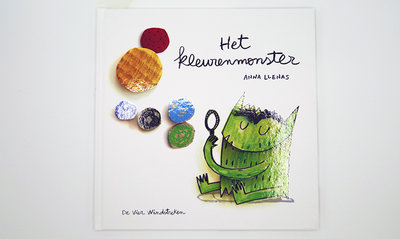 Het Kleurenmonster prentenboek