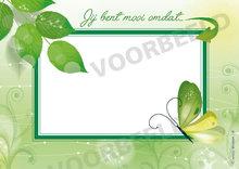 Complimentenblokje - Mooi